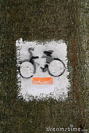 Bicycle path symbol