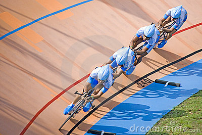 Bicycle Race Editorial Photography