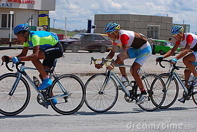 Bicycle race Editorial Stock Photo