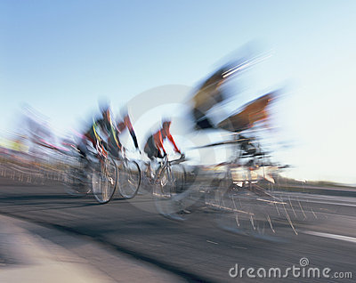Bicycle race.