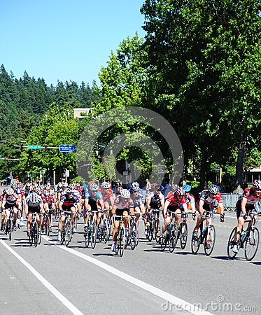 Free Bicycle Racers. Royalty Free Stock Photography - 82916937