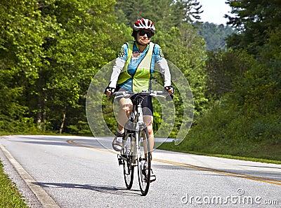Bicycle Ride Across Georgia Editorial Photo