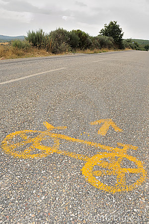 Bicycle on the road no.2