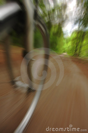 Bicycle speeding
