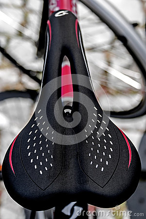 Bicycle sport saddle