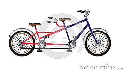 Bicycle - tandem