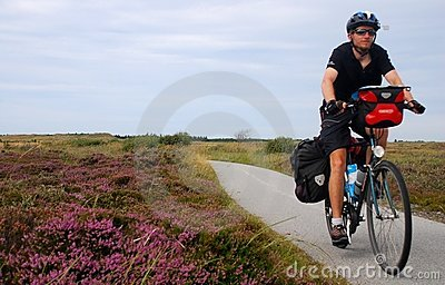 Bicycle Touring In The Countryside