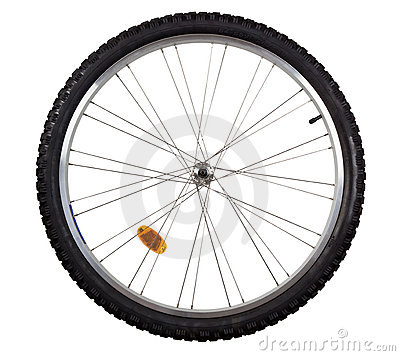 Free Bicycle Wheel Royalty Free Stock Photography - 12435547