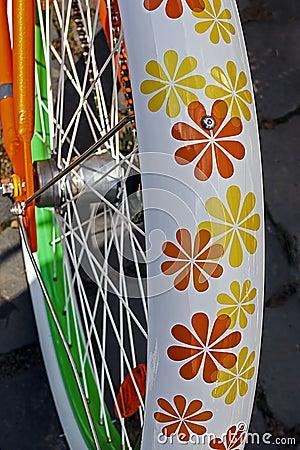 Bicycle wheel. Detail 11