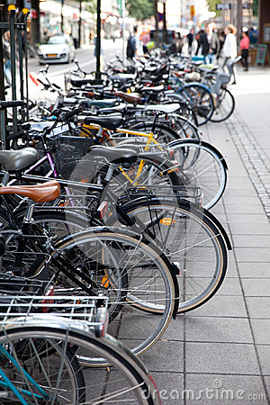 Bicycles Editorial Stock Photo