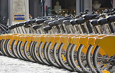 Bicycles to rent