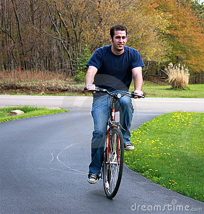 Bicyclette d équitation d homme