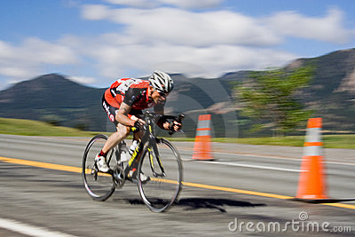 Bicyclist Editorial Stock Photo