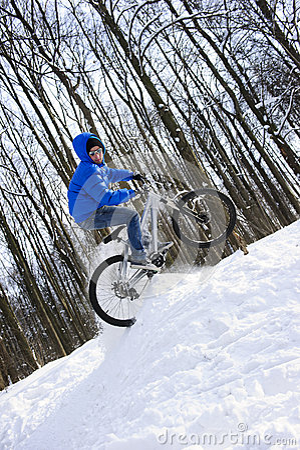 mountainbike snow winter extreme-#7