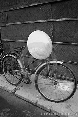 Bicyle and Hat - Vietnam