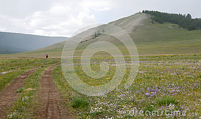 Biek krajoznawstwo w Północnym Mongolia