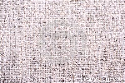 Bieliźniana brezentowa tekstura