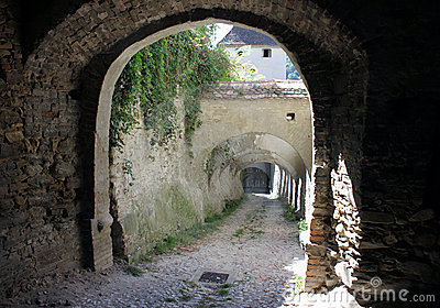 Biertan alley