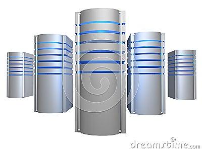 Big 3D servers farm