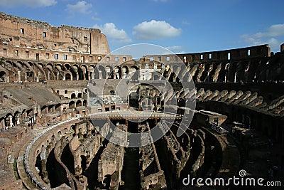 Big amphitheater in Rome
