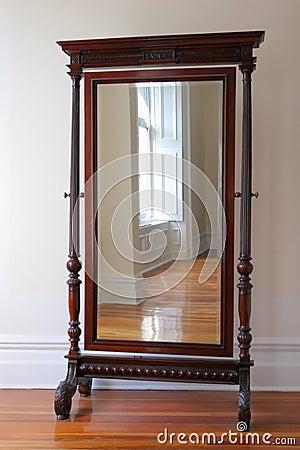 Free Big Antique Mirror Stock Photo - 3246160