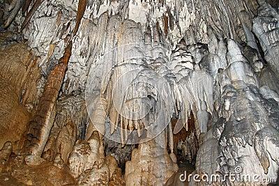 In the Big Azysh cave. Russia, Western Caucasus