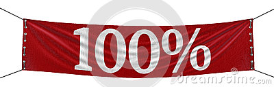 Big 100  Banner (clipping path included)