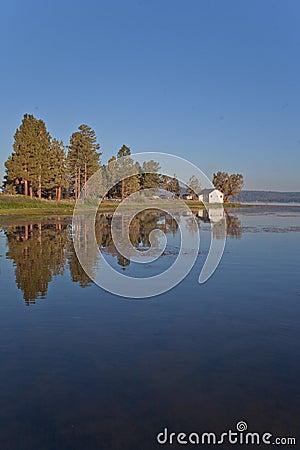 Big Bear lake at Dawn