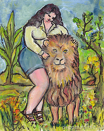 Big Beauty tames the Lion
