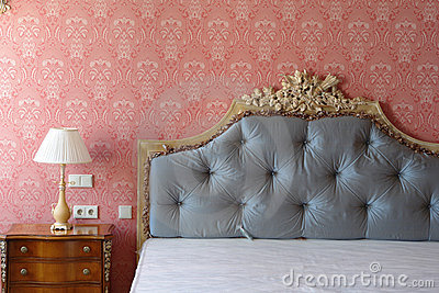 Big Bed Royalty Free Stock Photo - Image: 14346925