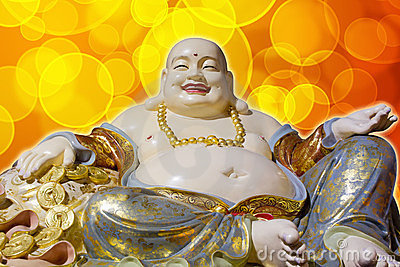 Big Belly Maitreya Happy Laughing Buddha Statue