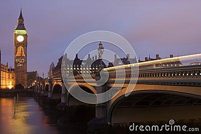 Big Ben 150th Anniversary Editorial Stock Photo