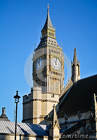 Big Ben Fotografia Royalty Free - Obraz: 28052117