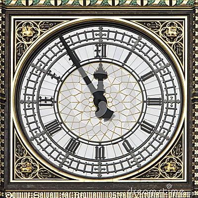 Big Ben - 5 Minutes to 12