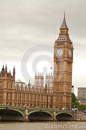 Big Ben in London Editorial Photo