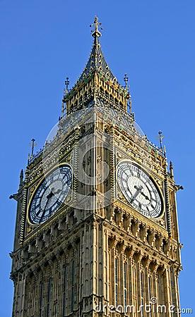 Free Big Ben Angle Royalty Free Stock Photography - 2167897