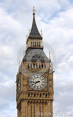 Big Ben clock in London