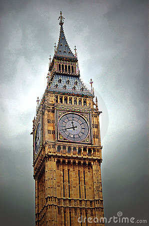 Big Ben Clock London England