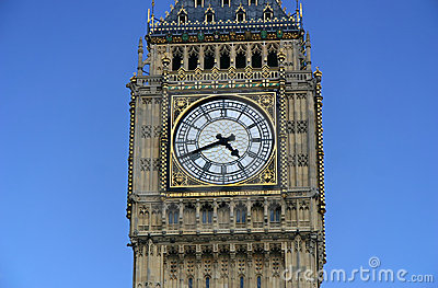 Big Ben closeup - London, Englad