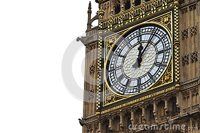 Big Ben Details, London, UK