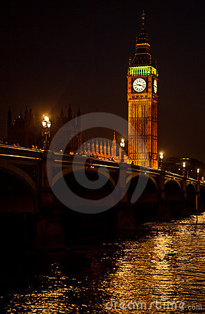 The Big Ben from the distance