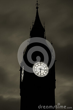 Big Ben at down