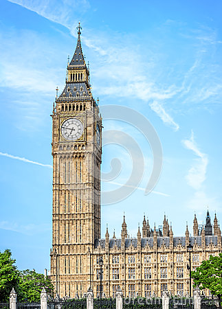 Free Big Ben - Elizabeth Tower In London Stock Photo - 56493060