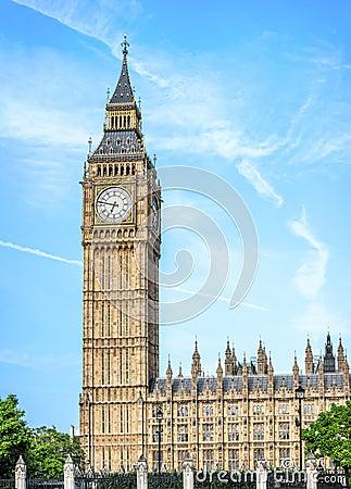 Free Big Ben - Elizabeth Tower In London Stock Photo - 56493060