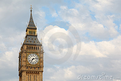 Big Ben is famous English clock