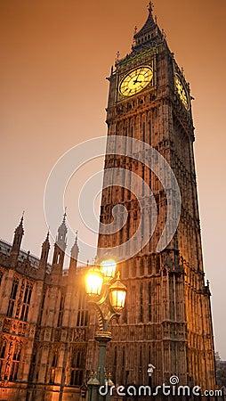 Golden Big Ben