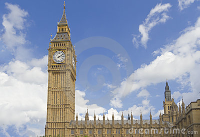 Big Ben and the house of Parliament