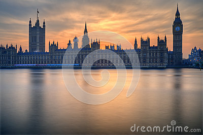 Big Ben and Houses of Parliament London