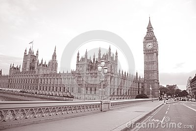 Big Ben and Houses of Parliament; Westminster; London