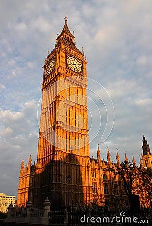 Free Big Ben In London Stock Image - 10121461